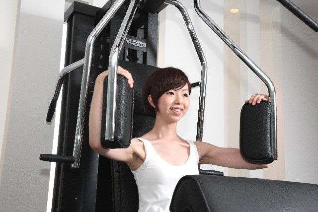 トレーニングマシン 女性