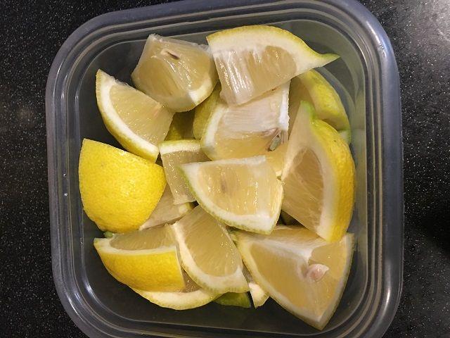 レモン 冷凍保存