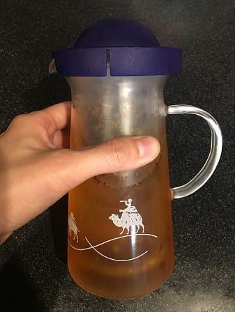 お茶 出来上がり