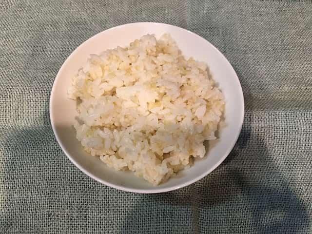 発芽米 ごはん